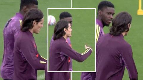 Tuanzebe tiết lộ Cavani đưa ra lời khuyên cho anh trước trận gặp PSG