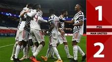 PSG 1-2 Man United: Neymar vô hại, Quỷ đỏ đả bại á quân