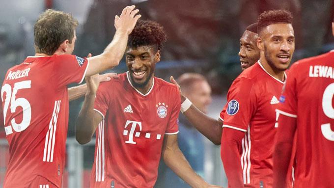 Bayern tỏ ra quá mạnh so với Atletico