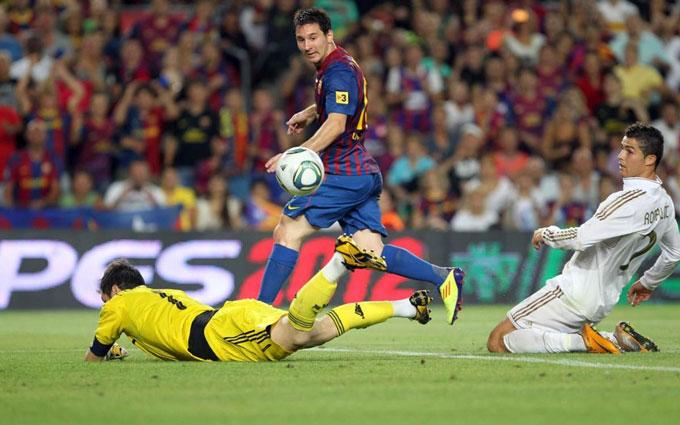 Messi là ông vua ở những trận Kinh điển