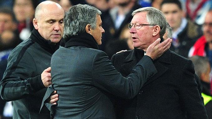 Những màn khẩu chiến giữa Mourinho và Ferguson là gia vị đặc biệt trong các cuộc đối đầu giữa Chelsea và M.U