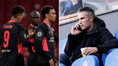 Van Persie chê Liverpool ăn may mới thắng được Ajax