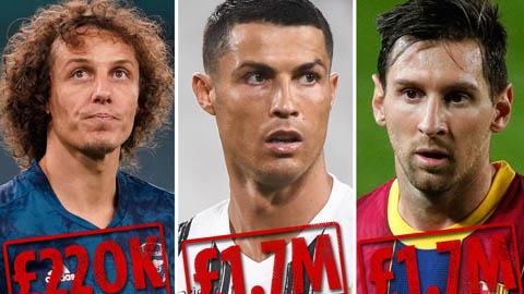 """Ronaldo hay Messi từng từ chối mức lương """"khủng"""" cỡ nào?"""