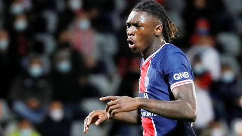 Moise Kean có thể sớm rời PSG