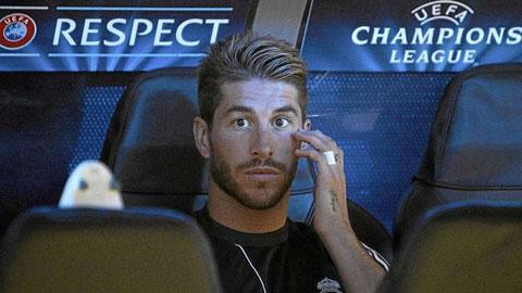 Real lại khổ vì vắng Ramos