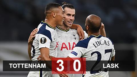 Kết quả Tottenham 3-0 LASK: Vinicius làm lu mờ cả Bale