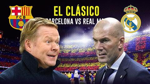 Koeman vs Zidane: Kinh điển đầu tiên