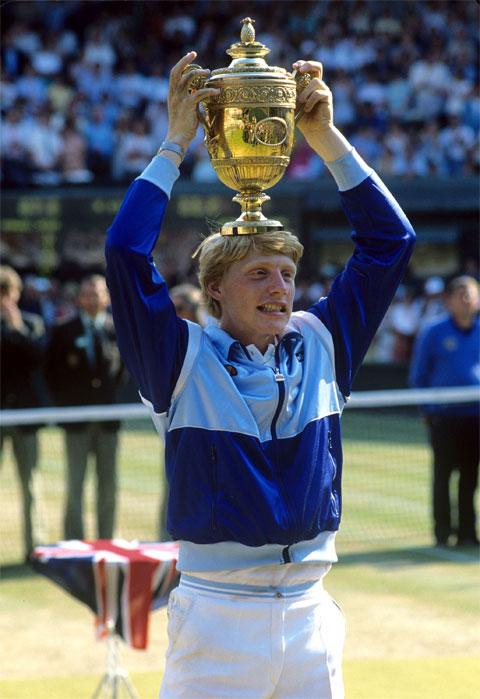 Boris Becker vô địch Wimbledon 1985