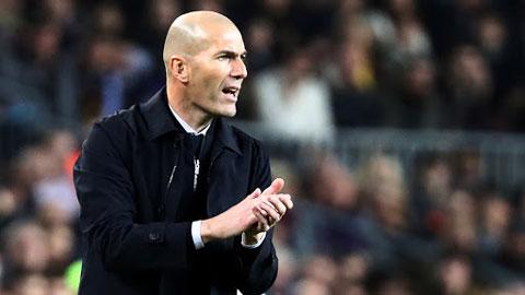 Trận El Clasico này sẽ quyết định số phận Zidane