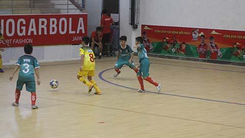 Giải U11 quốc gia 2020: Xác định 8 đội vào vòng Tứ kết