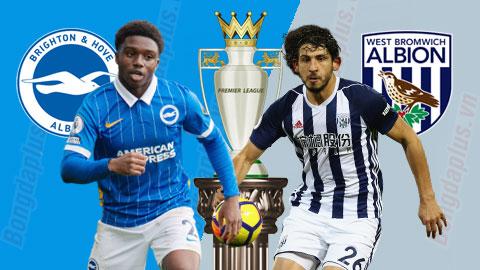 Nhận định trận đấu Brighton vs West Brom, 0h30 ngày 27/10: Hải âu bay cao
