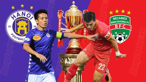 19h15 tối nay, trực tiếp Hà Nội FC vs B.Bình Dương
