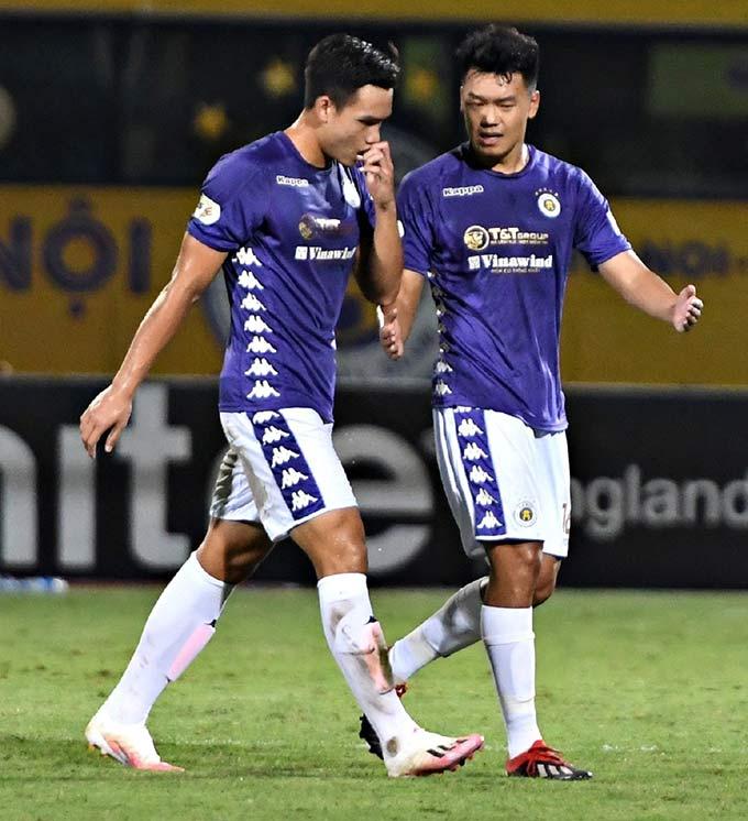 Hai trung vệ Việt Anh, Thành Chung ghi 5 bàn tại V.League 2020