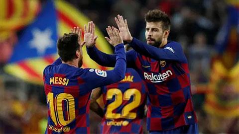 Pique chỉ trích Barca trước thềm El Clasico