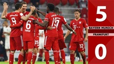 Bayern Munich 5-0 Frankfurt (Vòng 5 Bundesliga 2020/21)