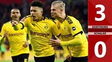 Dortmund 3-0 Schalke (vòng 5 Bundesliga 2020/21)