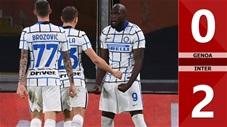 Genoa 0-2 Inter (vòng 5 Serie A 2020/21)
