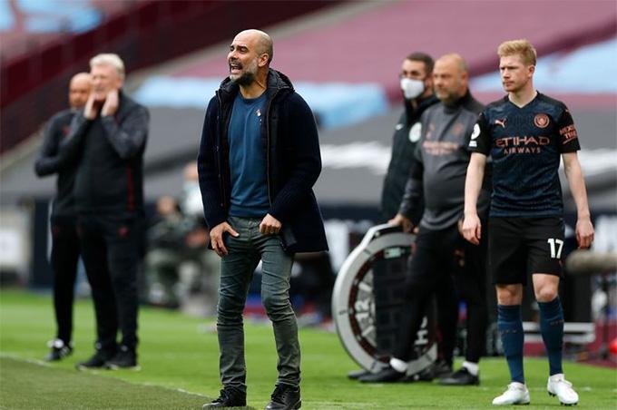 Những điểm cộng và trừ của Man City ở trận hòa West Ham