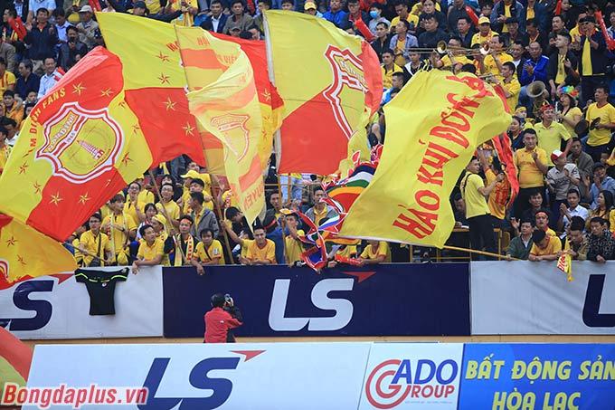 DNH Nam Định đã nghĩ đến 1 kết quả hòa, qua đó 99% trụ hạng V.League