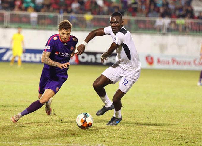 Geovane ghi 1 bàn thắng và 1 kiến tạo cho Sài Gòn FC
