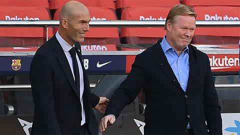 Barca thua thảm Real: Koeman còn 'non và xanh' so với Zidane