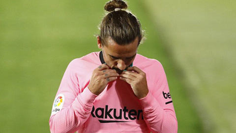 Griezmann hối hận vì gia nhập Barca