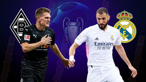 Nhận định bóng đá M'Gladbach vs Real Madrid, 03h00 ngày 28/10
