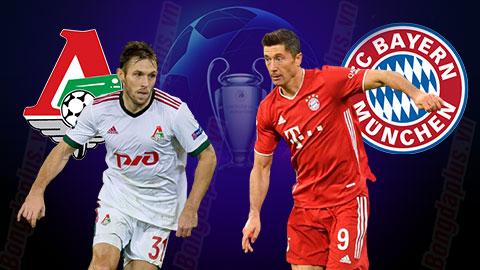 Nhận định bóng đá Lokomotiv Moscow vs Bayern, 0h55 ngày 28/10