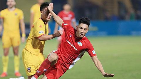 Viettel mất Trọng Đại ở trận chung kết sớm với Hà Nội