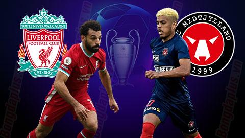 Nhận định bóng đá Liverpool vs Midtjylland, 03h00 ngày 28/10