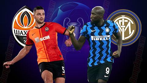 Nhận định bóng đá Shakhtar Donetsk vs Inter Milan, 0h55 ngày 28/10
