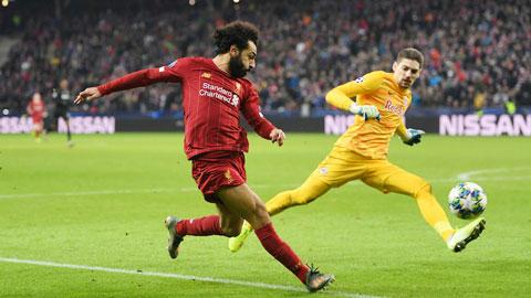 """Salah và các đồng đội sẽ có màn """"tập bắn"""" trước Midtjylland tối nay"""