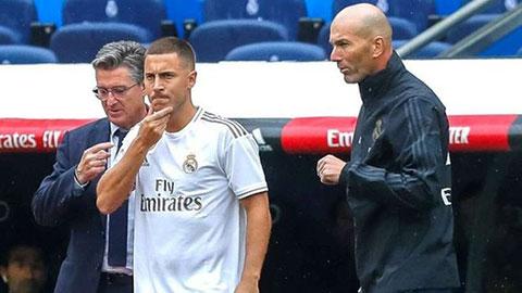 Zidane sẽ cho 'bom xịt' Hazard ra sân trận đầu tiên mùa này?
