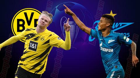 Nhận định bóng đá Dortmund vs Zenit, 03h00 ngày 29/10: Chiến thắng đầu tay