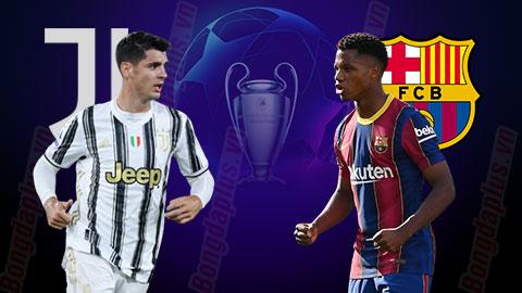 Nhận định bóng đá Juventus vs Barcelona, 03h00 ngày 29/10