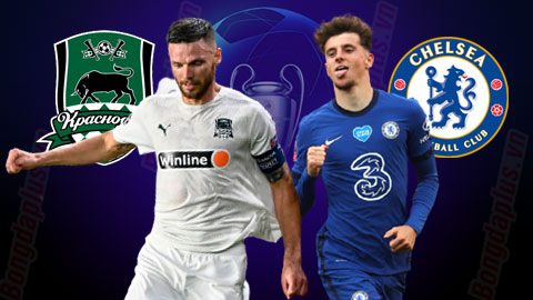 Nhận định bóng đá Krasnodar vs Chelsea, 00h55 ngày 29/10