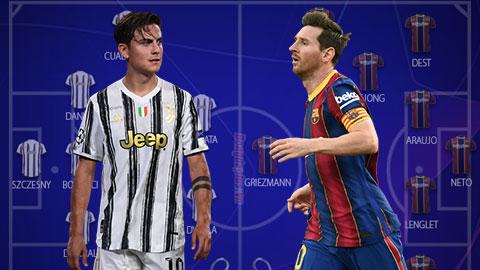 Đội hình dự kiến trận Juve vs Barca: Ronaldo tái xuất?