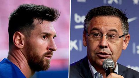 Bartomeu không từ chức, khẳng định Messi sẽ giúp Barca giành các danh hiệu