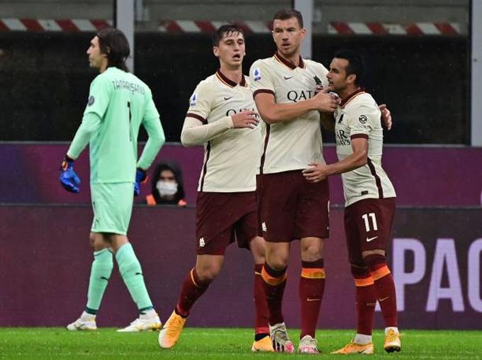 Nhưng Roma vẫn kiên cường giành lại được 1 điểm