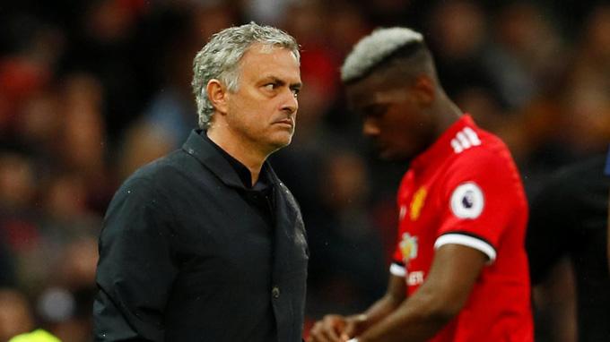 Mourinho từng áp dụng lối chơi quá an toàn tại Man United dù có trong tay nhiều ngôi sao tấn công chất lượng như Pogba