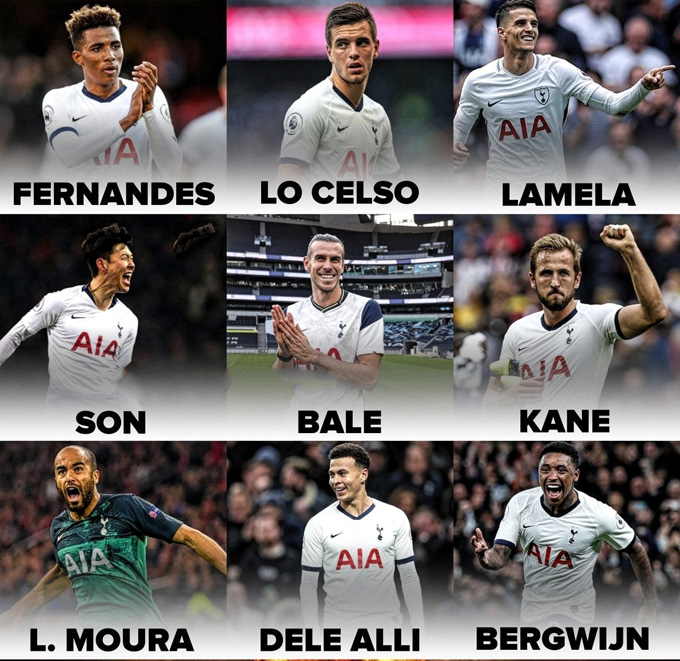 Tottenham lúc này sở hữu rất nhiều mũi tấn công lợi hại và Mourinho cần mạnh dạn để họ thỏa sức sáng tạo
