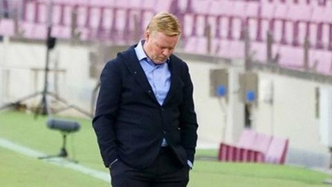 Vừa thua Real, Barca lại có nguy cơ mất HLV Koeman trong 12 trận