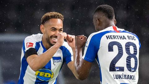 Hertha sắp gia hạn với Cunha
