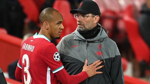 Fabinho nghỉ 3 trận tới: Cơn ác mộng cho Liverpool