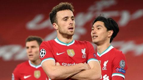 Liverpool: Diogo Jota quá hay cho một siêu dự bị