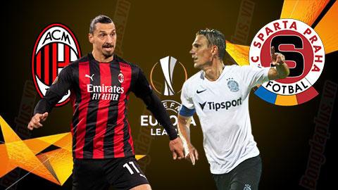 Nhận định kèo AC Milan vs Sparta Praha, 0h55 ngày 30/10