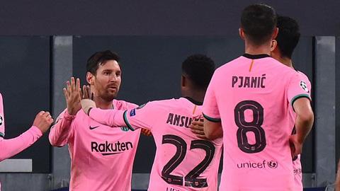 Điểm nhấn Juventus 0-2 Barca: Griezmann vô duyên, Messi trở thành 'thánh penalty'