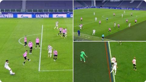 3 tình huống Morata ghi bàn nhưng bị từ chối bị lỗi việt vị