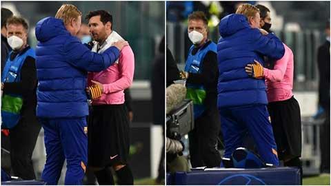 Koeman nói gì với Messi sau chiến thắng trước Juventus?