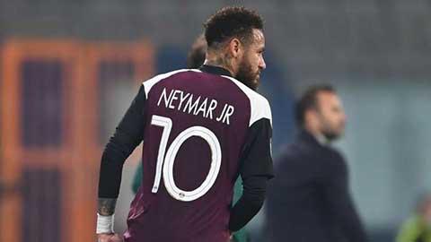 PSG xác nhận Neymar dính chấn thương phải nghỉ 3 trận